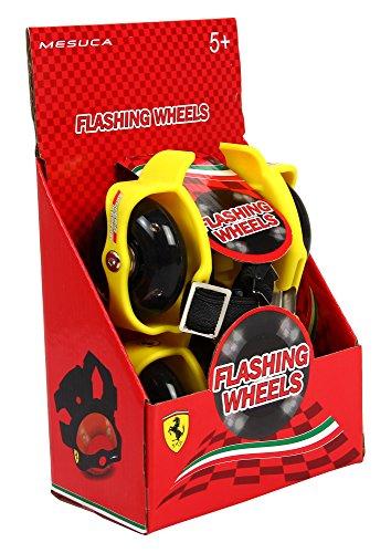 Ferrari Kids Lighted Heel Skate, Yellow,