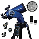 Meade Instruments – StarNavigator NG 125mm Maksutov-Cassegrain (MAK) Computerized GoTo Astronomy Telescope w/AudioStar 30,000+ Object-Database & Audio Tours – Mount, Tripod Included – Compact Design