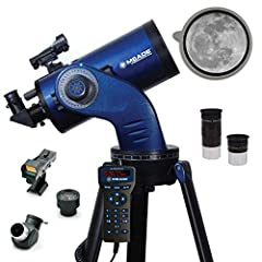 """Apeture 127mm/ Focal length of 1900mm, f/15 focal ratio Two 1.25"""" 9mm and 26mm eyepieces / Red-dot viewfinder 90 degree 1.25"""" Erect Prism Diagonal /Dual-axis DC servo motors provides smooth and accurate variable-rate tracking Single Arm Mount /Vixen ..."""