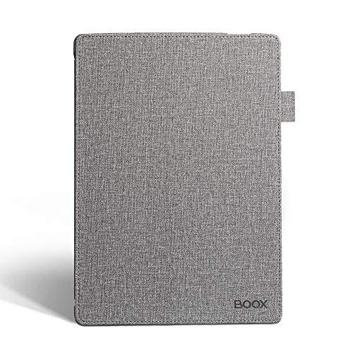 BOOX Hülle für Note Series eReader, Schutzhülle Cover Grau, mit Ruhemodus
