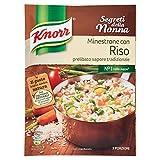 Knorr - Minestrone Con Riso, 105 G, 3 Porzioni