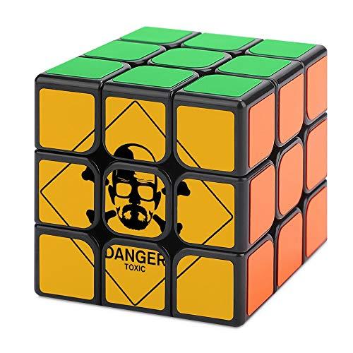 uytrgh Brea-king B-ad Tercer Orden Cubo Mágico Descompresión No Tóxico Suave Puzzle Nunca Fuera de Date Regalo