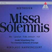 Beethoven: Missa Solemnis / Mei, Lipovsek, Rolfe Johnson, Holl; Harnoncourt (1993-03-09)