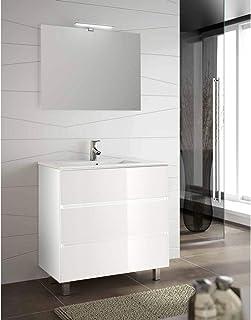 Amazon.es: muebles de baño con lavabo y espejo: Hogar y cocina