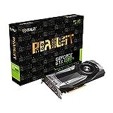 Palit GeForce GTX 1080Ti fundadores Edition 11GB GDDR5X Tarjeta gráfica, Color Gris