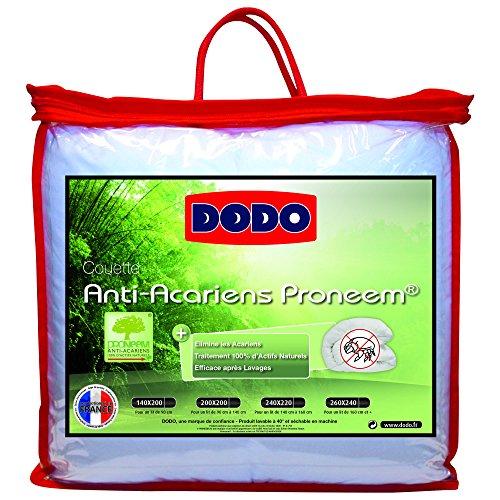 DODO COUETTE PRONEEM ANTI-ACARIENS - CHAUDE - 220 x 240 cm