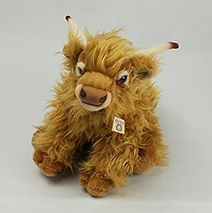 Zaloop Galloway - Peluche de vaca escocesa (66 cm)