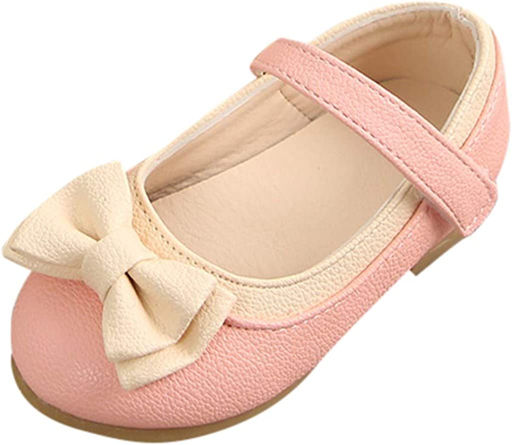 Rishine Little Kids Big Flat Max 43% OFF Children Girls Leat Cute Today's only Shoes