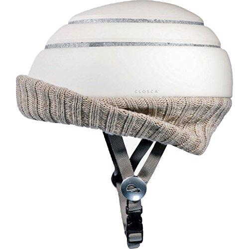 Closca Helmet Visor Nordic Wheat Fahrradhelm Erwachsene, Unisex, Beige, L 25,8 cm x B 21 cm x H 4 cm