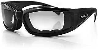 Bobster BINV101 Invader Sunglasses, Black Frame/Photochromic Lens