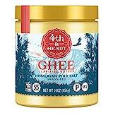 Himalayan Pink Salt Grass-Fed Ghee Butter by 4th &...