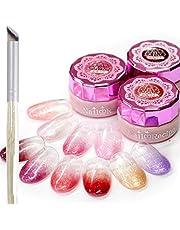 Nail Recipe(ネイルレシピ) カラージェル ジェルネイル ネイルカラー 10色 セット UV・LED ソークオフタイプ セルフネイル 発色抜群