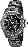 CHANEL Women's J12 Ceramic & Stainless Steel Watch, Black