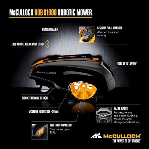 McCulloch 9670597-03 ROB 600 Mähroboter, mehrfarbig, R600 - 6