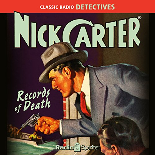 Nick Carter: Records of Death audiobook cover art