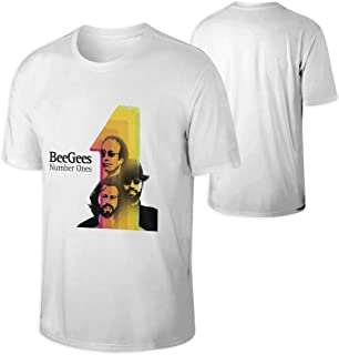 6df87ac9d Bee Gees Number Ones Mens T Shirts Men's Tees White