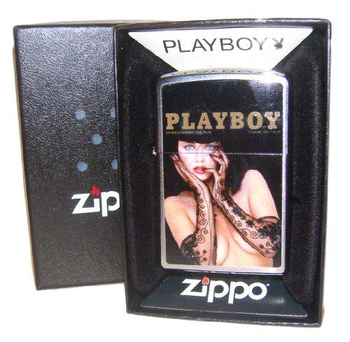 Zippo Lighter 1988 Playboy Magazine - Rare Edition
