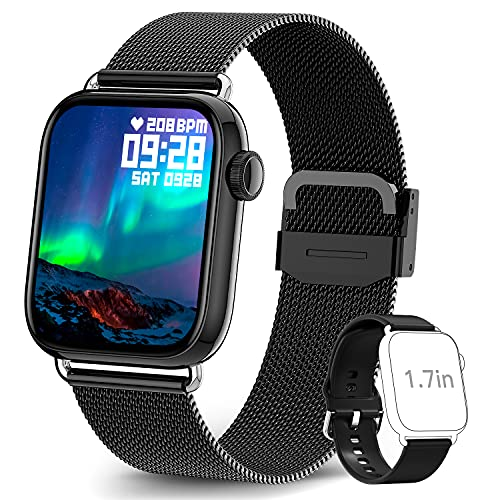 TagoBee Smartwatch Orologio Fitness Uomo Donna 1,69  Full Touch Bluetooth Impermeabile IP68 Smart Watch Cardiofrequenzimetro da Polso Saturimetro Activity Tracker Timer Contapassi Calorie Android iOS