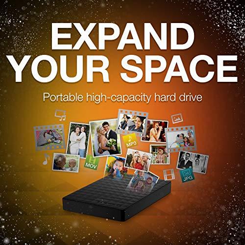 Seagate Expansion 2TB Portable External Hard Drive USB 3.0 (STEA2000400)