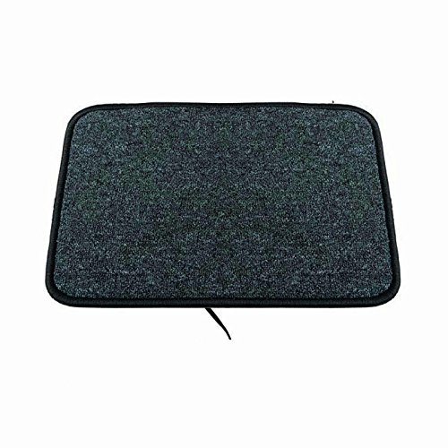 Mi-Heat Infrarot Fußwärmer Heizmatte Heizteppich 40x50cm Teppichheizung Wärmematte Schreibtischheizung Heating Mat Carpet 24V 30Watt