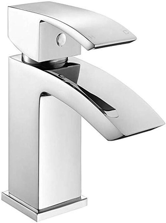 Oudan Bathroom Taps Basin Mixer Taps Bathroom Faucet Sink Tapschrome Basin Sink Mixer Tap Modern Bathroom Lever Faucet (color   -, Size   -)