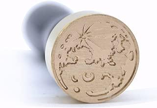 moon wax seal stamp