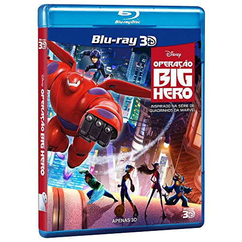 OPERACAO BIG HERO - DISNEY (BR-3D)