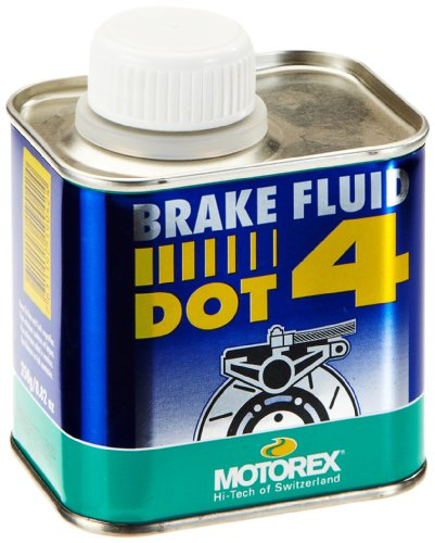 MOUNTAIN MOTOREX Liquide de Frein DOT4 – Bleu, 0,25 litres