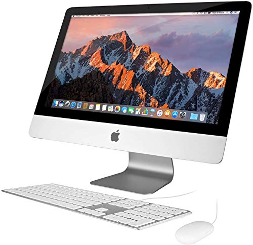apple all in one computers Apple iMac 21.5in 2.7GHz Core i5 (ME086LL/A) All In One Desktop, 16GB Memory, 1TB Hard Drive, MacOS 10.12 Sierra (Renewed)