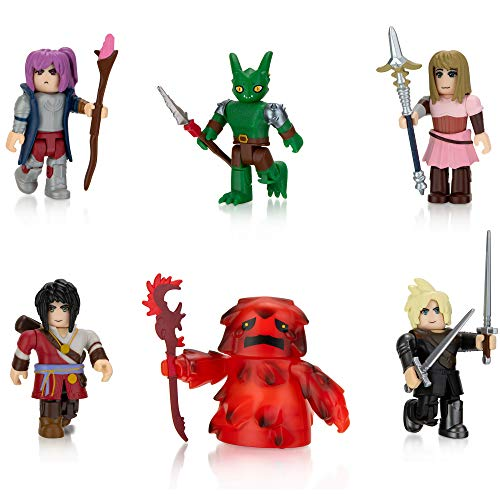 Roblox Action Collection - World Zero Six Figure Pack [Includes Exclusive Virtual Item]
