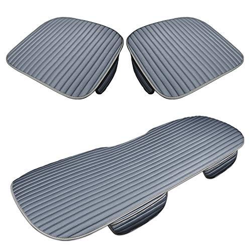 Walking Tiger autostoelkussen zitkussen stoelbeschermer stoelhoezen 3 stuks voor Amarok Bora Caddy Golf Polo A4 b6 b7 b8 lichtblauw