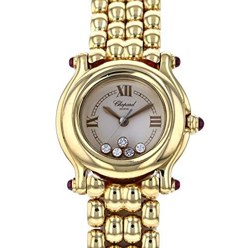 ショパール Chopard ハッピースポーツ 27/6150-21 シャンパン文字盤 中古 腕時計 レディース (W178350) [並行輸入品]