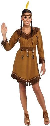 Horror-Shop Costume Fille indienne indigène