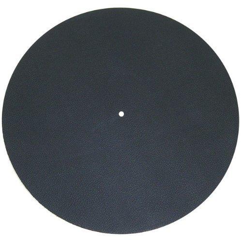 Pro-Ject Leather it, Plattentellerauflage aus Leder (Schwarz)