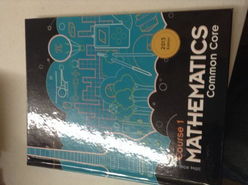 Prentice Hall Mathematics Course 1 Common Core 2013 Edition ISBN 125673716X 9781256737162 (2013-05-04)