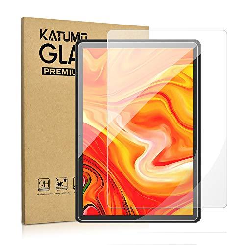 KATUMO 2 Pack [ 9.29' x 6.53'] Tableta 10.1 Pulgadas Universal Protector Pantalla Tab 10 Vidrio Templado