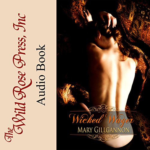 Wicked Wager audiobook cover art