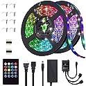 SpringFour 32.8FT/10M 20 Key Waterproof LED Strip Lights