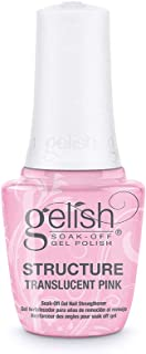 Gelish Soak-Off Gel Structure Nail Strengthener Polish - Translucent Pink 15ml