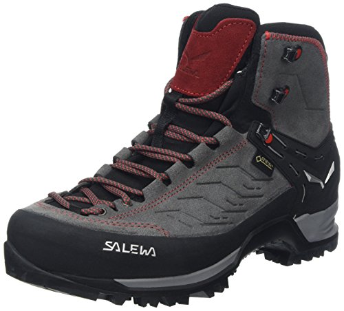 Salewa Mountain Trainer Mid GTX Hiking Boot - Men's Charcoal/Papavero 11.5