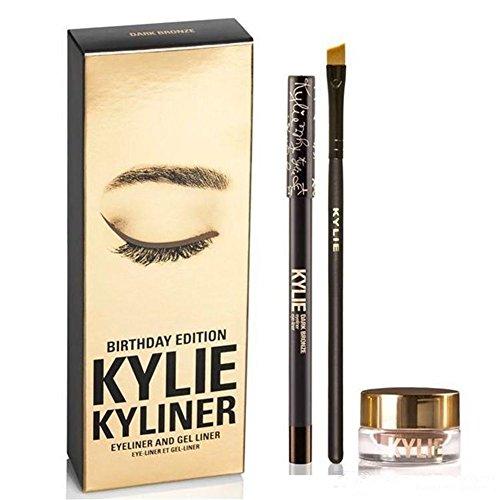 Kylie Kyliner Kit Birthday Edition Eyeliner And Gel Liner - Dark Bronze