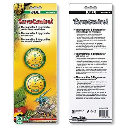 JBL TerraControl Thermometer und Hygrometer