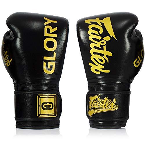 Fairtex Boxhandschuhe, BGVG1, schwarz-gelb Größe 12 Oz