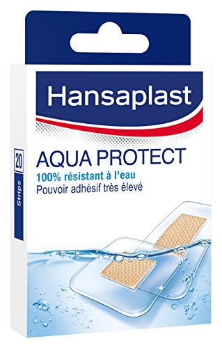 Hansaplast Set 20Pflaster Aqua Protect transparent 2Größen