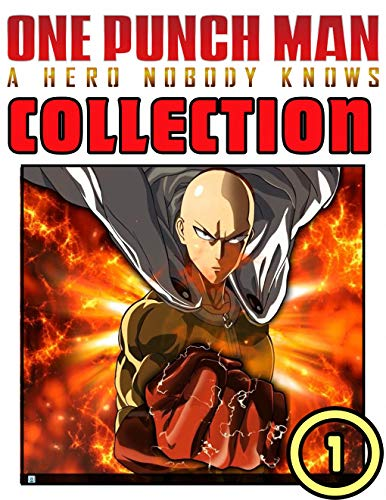 One Punch Man Collection: Book 1 Includes Vol 1 - 2  Great Action Graphic Novel Manga For Teens , Adults, Fan