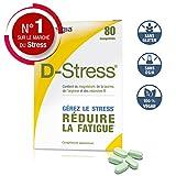 D-Stress - Magnésium Hautement Assimilé - Taurine, Arginine & Vitamines B (Vitamine B6, B5, B3, B2) - Origine France