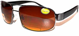 Pilot style sunglasses Bifocal EF13 Strengths and colours plus pouch and cloth