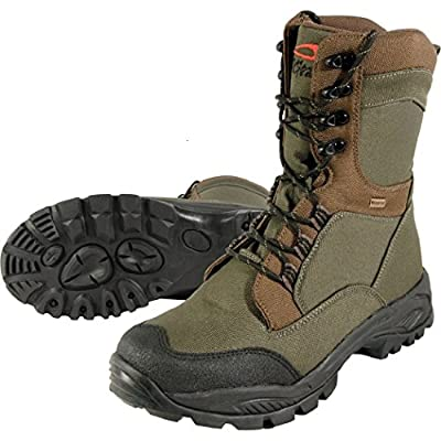 TF Gear Extreme Green 100% Waterproof Thermal Lined Carp Fishing Boots - Ex Demo by TF Gear