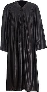 Unisex Shiny Graduation Gown Choir Robe for Confirmation Baptism 12 colors avaliable
