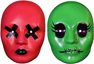 Studios Tragedy Girls Sadie McKayla Serial Killer Neon Masks 2 pk